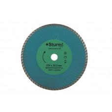 Алмазный круг STURM 230*22*TW\армир.бетон,гранит,мрамор/сплошной