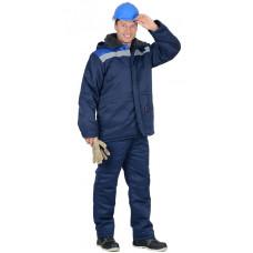 "Куртка ""Бригадир"" мужская зимняя со светоотражателем р. 52-54"