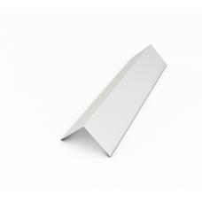Угол внутренний белый, шок.кор(простой)  0,45