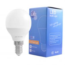 Лампа светодиодная LED 6,5W 4100K Е-14 белый Gauss (свеча) ,