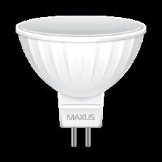 Лампа светодиодная LED MR16 3,5W 4100К GU5.3  белый Gauss ,