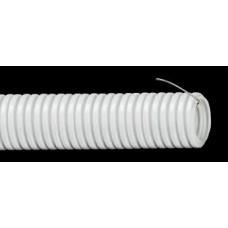 Труба гофрированная 25мм с зондом ПНД (черный)