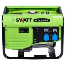 Генератор бензиновый SWATT PG2500 (2/2,2 кВт, 220В, бак 15л, статор медь)