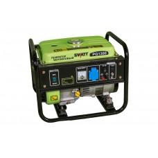 Генератор бензиновый SWATT PG1300 (1,0/1,1 кВт, 220В, бак 10 л, статор медь)