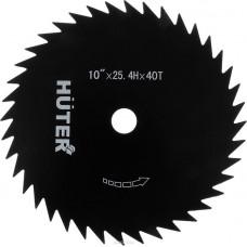 Диск для триммера Huter GTD-40T 71/2/7диаметр посадочный 25.4мм, внешний диаметр 255 мм, 40зуб. ,