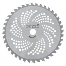Диск для триммера Huter GTD-40TP 71/2/16 диаметр посадочный 25.4мм, внешний диаметр 255 мм, 40зуб. ,