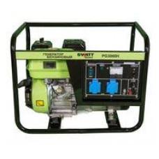 Генератор бензиновый SWATT PG3000H (2,5/2,8 кВт, 220В, бак 4л)