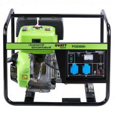 Генератор бензиновый SWATT PG6500H (5/5,5 кВт, 220В, бак 6л., 76 кг)