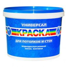 РАДУГА УНИВЕРСАЛ Краска для потолков и стен 3,5 кг