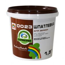 РАДУГА 0023 Шпатлевка для дерева 1,5 кг