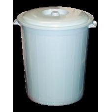 Бак полиэтиленовый 50л. пищевой с крышкой
