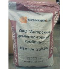 Цемент II/А-3 32,5Б (М-400-Д-20) мешок 50кг
